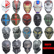 different Mask Full Face Protection Outdoor Paintball Airsoft outdoor Halloween