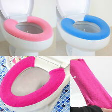 Potty Candy Color Sets Toilet Seat  Plush Toilet Seat Cover U-Shaped Toilet Mat