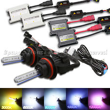 BI-XENON FUNCTION 9007 35W/55W AC SLIM HID CONVERSION KIT FOR HEADLIGHT 5 COLORS