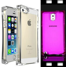 Clear TPU Glassy Ice Cube Shockproof Crystal Case For iPhone 456 Samsung S3 Note