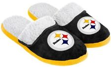 Pittsburgh Steelers NFL Licensed Women's Sherpa Slide Slippers Adult Sizes
