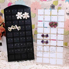 36 Pairs Plastic Holder Earrings Display Rack Stand Organizer Jewelry ShowCase
