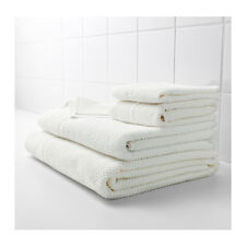 IKEA FRAJEN 100 % Cotton Towels Assorted Sizes White Color Free shipping.