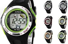 New Wrist Watch Watches Men Mens Boys LED Digital Sports Black Date Day Alarm