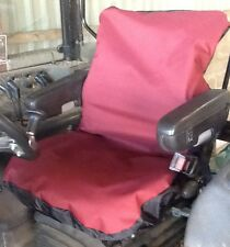 Heavy Duty Burgundy Tractor/JCB Seat Cover Waterproof - Other colours available