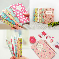 2015 Cute Floral Flower Dot Pattern Diary Planner Scheduler Journal + 1 Pen