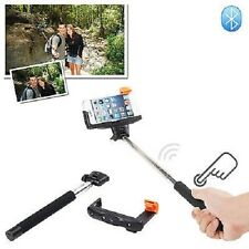 Wireless Bluetooth Selfie Monopod Extendable Handheld For iPhone Samsung Phones