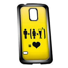 Cover for Galaxy S5 case #324 Funny Drunk Gift Idea Mens Present Beer Goggles