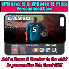 PERSONALISED LAZIO iPHONE 6 & iPHONE 6 PLUS UNOFFICIAL SILICONE BACK CASE