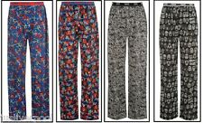 MEN'S MARVEL LOUNGE PANTS / PYJAMA BOTTOMS BLACK OR GREY