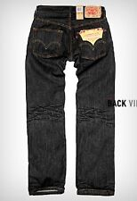 Levis 501-5808 Original Straight Leg Jeans in Iconic Black All Sizes NWT