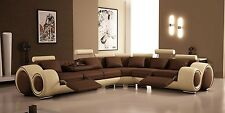 Modern Sectional Sofa With Recliners Living Room Furniture Set Love Seat Chairs