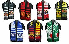 Soccer Scarf Scarves Real Madrid, Manchester United, Chelsea, FC Barcelona