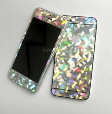 Hologram Hole Wrap decal Skin Sticker for Iphone 5 / 5S - Glass pattern shape
