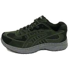 MENS BLACK LACE-UP CASUAL SPORTS RUNNING WALKING GYM TRAINERS SHOES SIZES 7-12