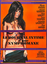 """Diary of a Nymphomaniac (1973) """"Le journal intime d'une nymphomane"""" Movie Poster"""