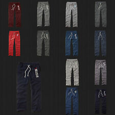 New Hollister By Abercrombie Men Classic Straight Fit Fleece Sweatpants All Size