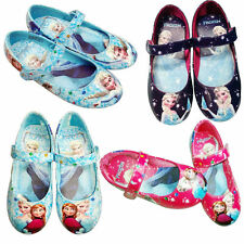 Princess Cosplay Leather Shoes for Girls Kids Baby Shoes Size 25-30 Cartoon Gift