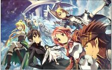 021 Sword Art Online -Japanese Anime POSTER ART PRINT A4 A3 BUY 2 GET 3RD FREE