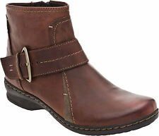 Clarks Women's Artisan Brown Leather  Boots Style #66502