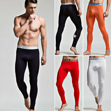 New Fleece-Lined Men's Warm pants Leggings Long johns Thermal Underwear XL L M