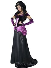 ADULT FEMALE COUNTESS NOCTURNA HALLOWEEN SMIFFYS FANCY DRESS COSTUME - 3 SIZES