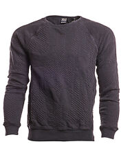 SCOTCH AND SODA Crew Neck Worked Out Sweater New Men Long Sleeve Sweat Shirt
