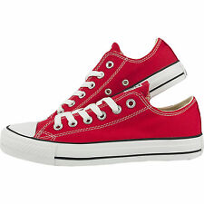 Converse Classic Chuck Taylor All Star Red Trainer Sneaker Low OX NEW***
