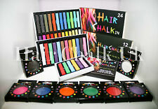 HAIR CHALK UK - HALLOWEEN HAIR CHALK - 1, 6, 12 & 24 Piece Sets, fancy dress