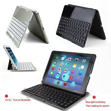 For Apple iPad Air 5 Portable Stand Case Cover With Wireless Bluetooth Keyboard