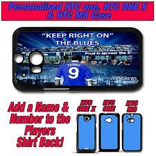 PERSONALISED BIRMINGHAM CITY UNOFFICIAL HTC ONE, ONE X & M8 SILICONE BACK CASE