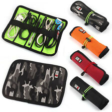 1PC Cable Organizer Foldable Travel Portable Pouch Storage Organizer Cuddly