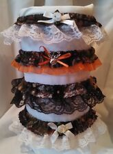 Mossy Oak BreakUp Camo Wedding Garter with Choice of Lace, Formal, Bridal