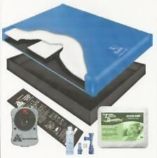 "70% WAVELESS WATERBED MATTRESS LINER FILL DRAIN KIT ""G400 BETTER BUNDLE"""