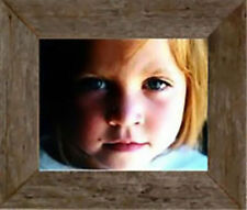 "NEW 2"" BARN WOOD SHABBY CHIC PICTURE FRAME (CUSTOM COLOR) COUNTRY RUSTIC DECOR"