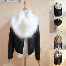 Warm Wrap Trendy Winter Shrug 6 Colors Faux Fur Collar