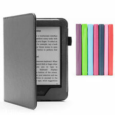 PREMIUM PU LEATHER CASE COVER FOR NEW KINDLE WITH TOUCH (7th Generation 2014)
