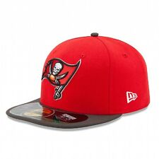 New Era TAMPA BAY BUCCANEERS NFL Sideline Game Cap Fitted Hat 59FIFTY Football