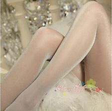 Women's Ultrathin Shiny Speckled Pantyhose Sophisticated Silk Stockings 5 Colors