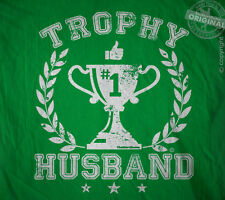 Trophy Husband - best hubby ever Father's day Valentines dad gift tee t-shirt