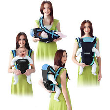 Baby Carrier Adjustable Infant Newborn Kid Comfort Wrap Rider Sling Backpack