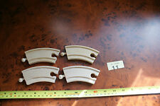 4 Piece's Curved Track SPARE PARTS Bigjigs Brio Thomas the Tank ELC compatible