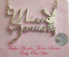 """Playboys """" Playmate of the Month""""  Necklaces, 16"""" Chain Attached"""