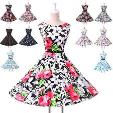 FAST Cheap Vintage Rockabilly Retro Swing 50s 60s pinup Housewife Evening Dress