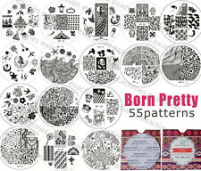 BORN PRETTY #01-35 Nail Art Stamp Stamping Template Image Plates Nail Tool