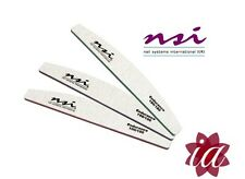 Multi-Listing NSI Dura Files 100, 150, 180 Grit -Acrylic/Gel Nails Fast Delivery