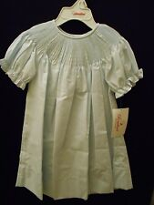 NEW READY TO SMOCK BABY BLUE BISHOP DRESS ROSALINA HEIRLOOM BOUTIQUE
