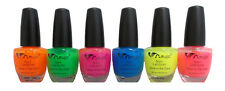 Wholesale Lot 6 Pcs  Nail Polish/Lacquer Glow In the Dark Translucent (EZCOSANP)
