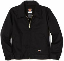 Dickies TJ15BK Black Lined Eisenhower Jackets All Sizes Available NWT
