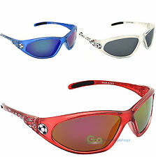 Kids Sunglasses World Cup Football Boys Girls Soccer England Red, White, Blue